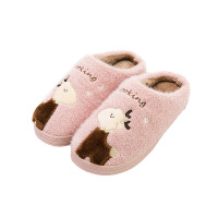冬季儿童棉拖鞋女童男幼儿保暖防滑家居宝宝亲子软底