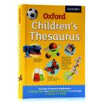 Oxford Children's Thesaurus 牛津小学近义反义词图解 英文原版 儿童词库 英英字词典写作工具