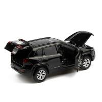 声光越野车儿童玩具吉普大切自由光合金汽车模型凯迪拉克奥迪悍宝马越野车合金模型仿真开门金属小汽车玩具车