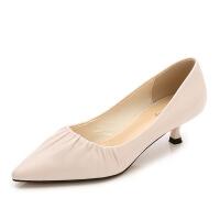 新款高跟鞋女单鞋女时尚高跟鞋韩版小清新女鞋单鞋birkenstock
