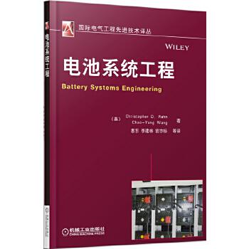 电池系统工程(国际电气工程先进技术译丛) (美)瑞恩,惠东,李建林,官亦标 机械工业出版社 9787111473336