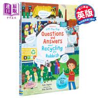 【中商原版】Usborne First Questions and Answers About Recycling an