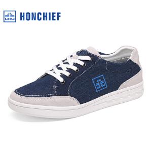 红蜻蜓旗下品牌  HONCHIEF  男鞋休闲鞋秋冬鞋子男板鞋KYA7000