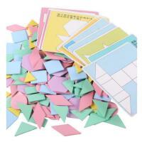 儿童拼图玩具2-3-4-5-6岁男孩女孩早教益智力木质七巧板宝宝拼板