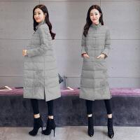 中国风棉衣女中长款2019冬装新款复古民族风盘扣刺绣外套
