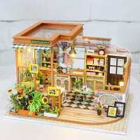 创意艺术屋情人节礼物diy小屋别墅手工制作房子模型