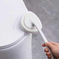 北欧风家用长柄海绵刷浴缸刷瓷砖墙面清洗器家居魔术贴刷清洁刷