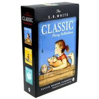 首页抢300减100】英文原版小说 E.B. White Classic Story E.B.怀特经典故事3册 夏洛特的