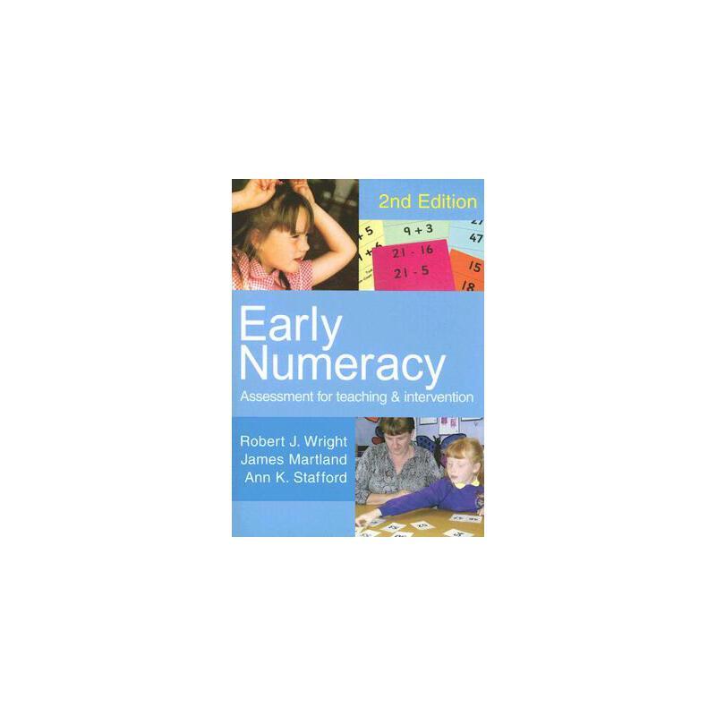 【预订】Early Numeracy: Assessment for Teaching and Intervention9781412910200 美国库房发货,通常付款后3-5周到货!
