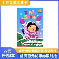 99选5 廖彩杏书单推荐 进口英文原版绘本 I Am Snow 我是雪 Scholastic Reader L1 学乐