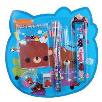 开学新品儿童文具套装 儿童文具礼品礼盒 学习用品8件套 生日礼物