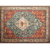 北欧民族风地毯客厅卧室沙发茶几毯美式乡村复古新中式风现代简约k