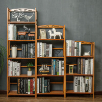 简易书架 大容量多层落地收纳置物架宿舍儿童书架学生加粗加厚多功能整理储物书柜子