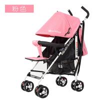 婴儿推车可坐可躺超轻便携折叠小婴儿车宝宝儿童四轮避震手推伞车YW166