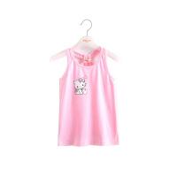 女童背心吊带 女孩宝宝上衣儿童装针织内衣春夏装童装