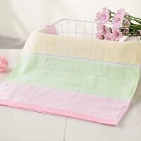 毛巾纯色棉质面巾加厚洗脸家用柔软吸水儿童毛巾洗脸帕 73x33cm