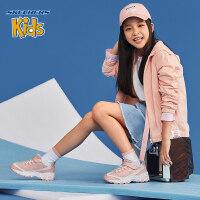 Skehers斯凯奇男女童鞋新款秋冬D'LITES熊猫鞋大童运动鞋