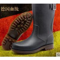 德系全地形男士中高筒雨鞋时尚雷神钓鱼雨靴水鞋套鞋胶鞋防水鞋潮