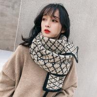 围巾女秋冬季韩版学生百搭ins潮仿羊绒针织毛线原宿风围脖日系