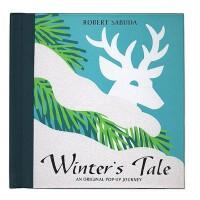 现货 英文原版 Winter's Tale 冬日童话:最初的旅程 立体书