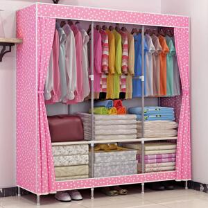 亚思特 大号布衣柜 简易衣柜 加厚面料折叠布衣橱