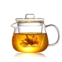 企鹅煮茶壶耐热玻璃茶具加厚过滤花茶壶可加热养生泡茶壶