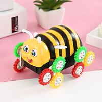 电动玩具车翻滚车 小蜜蜂翻斗车 自动翻转儿童电动车新奇特玩具