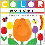 【预订】Color Wonder Hooray for Spring! 9781481487207