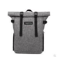 Designed for sony 相机包多功能休闲户外旅行摄影包双肩背包书包佳能尼康微单防水包