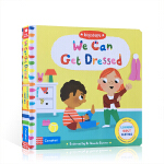 顺丰发货 英文原版绘本 We Can Get Dressed Big Steps系列大步向前 我会穿衣服 儿童启蒙早教