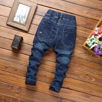 男童装秋冬新款加绒加厚牛仔裤子4-5-6-7-9岁男孩子学生棉裤子潮
