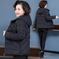 冬装外套女棉衣短款小个子2019新款妈妈装棉袄加厚洋气中老年