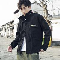 男士外套春季2019新款韩版潮流帅气衣服学生休闲工装上衣男装夹克