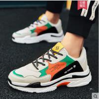 新款鞋子男韩版潮流男士板鞋运动休闲男鞋百搭透气老爹鞋网红同款时尚户外新品