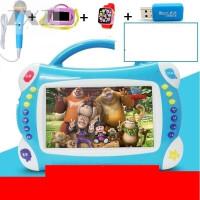 儿童早教机触摸屏可连wifi点读机0-3岁6岁视频故事宝宝学习机 7寸按键+8G 粉