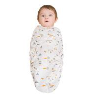 婴儿抱被包被两用襁褓包巾睡袋初生宝宝用品秋冬厚