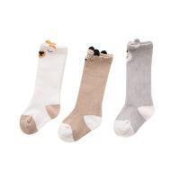 宝宝袜子0-1-3岁婴儿儿童过膝袜秋冬款加厚女孩春秋