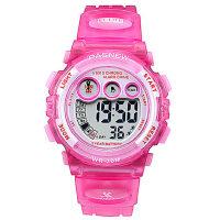 小学生儿童手表女孩防水电子表 韩版led运动手表 儿童表