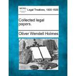 【预订】Collected Legal Papers.