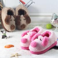 儿童棉拖鞋女童包跟冬季男童保暖防滑居家居宝宝棉鞋