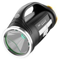 手电筒充电亮多功能远射5000户外家用防水氙气灯手提探照灯