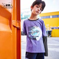【专区任选3件99元】小虎宝儿大圣国潮男童儿童长袖t恤2021春装新款纯棉洋气潮