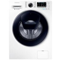 三星(SAMSUNG)8公斤滚筒洗衣机纤薄智能变频节能洗护泡泡净安心添WW80K5210VW/SC