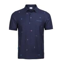 【现货】Columbia哥伦比亚 19春夏新品户外男装速干衣翻领POLO衫短袖T恤PM3719
