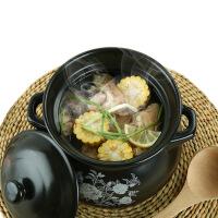 砂锅汤锅大容量炖锅家用燃气直烧贴花汤煲 陶瓷煲汤锅煮粥煲