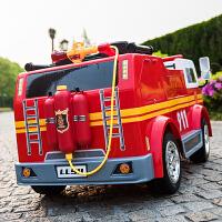 儿童电动汽车四轮可坐双人超大双人遥控四驱宝宝玩具越野车可坐人