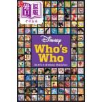 【中商海外直订】Disney Who's Who: An A to Z of Disney Characters