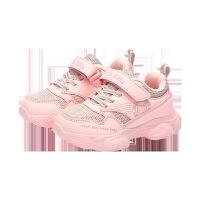 童鞋女童运动鞋2019冬季新款二棉保暖女孩休闲鞋百搭小白鞋