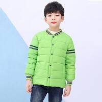 儿童棉服 男女儿童加厚羽绒棉服2020秋冬季新款韩版时尚棉衣服卡通中大童上衣棉外套