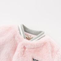 【加绒】davebella戴维贝拉童装冬季新款女童宝宝暖外套DB11554